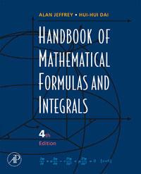 Handbook of Mathematical Formulas and Integrals handbook of mathematical fluid dynamics 1