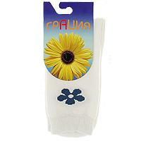 Носки женские Грация, цвет: белый. H 003. Размер 35/37 носки женские грация цвет телесный м1059 размер 35 37