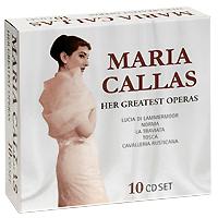 Мария Каллас Maria Callas. Her Greatest Operas (10 CD) уитни хьюстон whitney houston live her greatest performances cd dvd