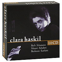 Клара Хаскил Clara Haskil (10 CD) piano sonatas cd