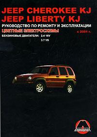 Jeep Cherokee KJ / Jeep Liberty KJ с 2001 г. Руководство по ремонту и эксплуатации запчасти для двигателя dana 213 2500 2700 jeep