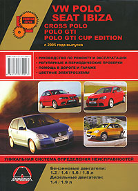 VW Polo / Seat Ibiza / Cross Polo / Polo GTI / Polo GTI Cup Edition с 2005 года выпуска. Руководство по ремонту и эксплуатации popular new polo polo modified gti taillight 11 13 new polo taillight modification