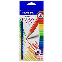 Набор цветных карандашей Osiris, 12 шт. L2521120L2521120Удобный набор цветных карандашей Osiris стандартного размера для школы и детского творчества. Округло-треугольный корпус карандаша выполнен из дерева, грифель, даже при падении карандаша, не ломается. Яркие цвета и превосходное качество порадуют детей и их родителей. Характеристики:Длина карандаша: 17,5 см.Диаметр карандаша: 0,8 см.Диаметр грифеля: 0,3 см.Количество: 12 шт.Производитель: Германия.Изготовитель: Индонезия.Артикул: 252120. Уважаемые клиенты!Обращаем ваше внимание на измененный дизайн упаковки. Поставка возможна в одном из двух вариантов нижеприведенных упаковок, в зависимости от наличия на складе. Комплектация осталась без изменений.