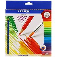 """Набор цветных карандашей """"Osiris. Aquarell"""", 24 шт. L2531240, Lyra"""