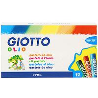 Масляная пастель Giotto. Olio, 12 штF293000Масляная пастель Giotto. Olio 12 цветов дает яркие, сочные цвета. Хорошо ложится на шероховатую бумагу, на картон, дерево. Очень удобна своей округлой формой. Не осыпается, не ломается, ярко рисует. Не пачкает руки, т.к. каждый мелок завернут в бумажную обертку. Особый пигмент, входящий в состав пастели, позволяет не тускнеть работам. Закрепления рисунка, в отличие от обычной пастели, не требуется, что удобно для юных художников. Считается, что пастель (от итальянского pastello - паста) придумали великие итальянские художники эпохи Возрождения. Конечно, производитель Fila помнит секреты и хранит лучшие традиции производства мягких цветных мелков. Характеристики:Длина: 7 см.Диаметр: 1 см.Количество: 12 цветов.Размер коробки: 15,7 см х 9 см х 1,7 см. Производитель: Италия.Изготовитель: Китай.Артикул: 2930 00.