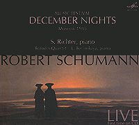 Robert Schumann. Music Festival December Nights calendar mysteries 12 december dog