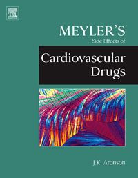 Meyler's Side Effects of Cardiovascular Drugs, jeffrey k aronson meyler s side effects of antimicrobial drugs