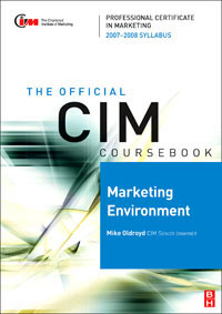 CIM Coursebook Marketing Environment 07/08, global elementary coursebook with eworkbook pack