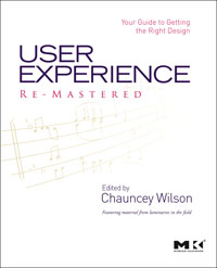 User Experience Re-Mastered,