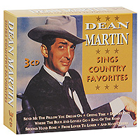 Дин Мартин Dean Martin. Sings Country Favorites (3 CD) дин мартин dean martin the entertainer with the casual voice at his best 4 cd