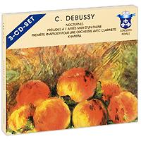 Луи Де Фромент,Symphonieorchester Radio Luxemburg,Жан-Мари Лонде,Серж Дэнжэйн,Мэрилин Досс Debussy (3 CD) battle royale