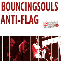 Bouncing Souls, Anti-Flag. BYO Split Series. Volume 4 (LP)