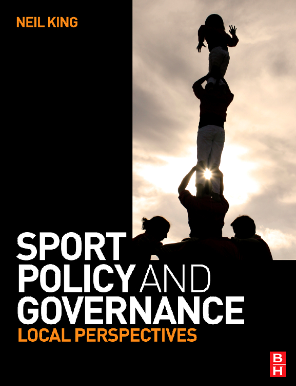 Sport Policy and Governance,