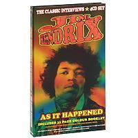 Джими Хендрикс Jimi Hendrix. As It Happened (4 CD) cd диск jimi hendrix the best of 1 cd