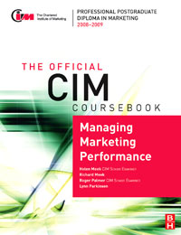 CIM Coursebook 08/09 Managing Marketing Performance, global elementary coursebook with eworkbook pack