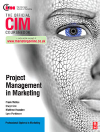 CIM Coursebook: Project Management in Marketing, global elementary coursebook with eworkbook pack