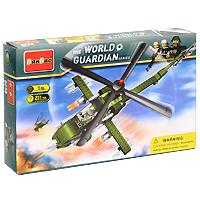 Конструктор Военный вертолет, 231 элемент конструктор banbao пожарный джип 158 элементов 8299
