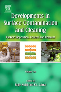 Developments in Surface Contamination and Cleaning - Methods for Removal of Particle Contaminants, particle mixing and settling in reservoirs under natural convection