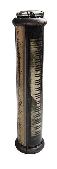"""Калейдоскоп """"Бетховен"""". Цветная печать, кракелюрный лак, металл, лак, зеркала, стекло, акрил, дерево. Ручная авторская работа"""
