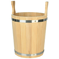 Запарник для бани, липа, 12 л