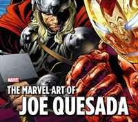The Marvel Art Of Joe Quesada HC marvel masters the art of john byrne