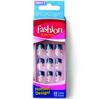 Набор накладных ногтей Синий френч весь набор для наращивания ногтей на авито в дагестане