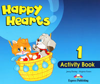 Jenny Dooley, Virginia Evans Happy Hearts 1: Activity Book happy is the bride