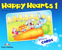 Jenny Dooley, Virginia Evans Happy Hearts 1: Story Cards evans v dooley j enterprise plus grammar pre intermediate