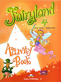 Jenny Dooley, Virginia Evans Fairyland 4: Activity Book mastering arabic 1 activity book