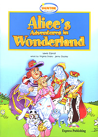 Lewis Carroll Alice's Adventures in Wonderland winter wonderland a magical colouring adventure