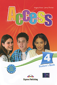 Virginia Evans, Jenny Dooley Access 4: Student's Book american english file level 4 student book