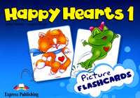 Jenny Dooley, Virginia Evans Happy Hearts 1: Picture Flashcard happy is the bride
