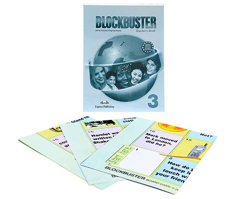 Blockbuster 3: Teacher's Book (+ 3 плаката)