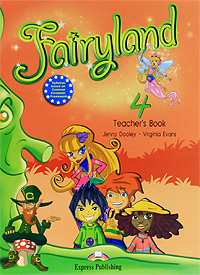 Jenny Dooley, Virginia Evans Fairyland 4: Teacher's Book moser cerastyle mini 4480 0050 выпрямитель для волос