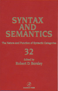 The Nature and Function of Syntactic Categories,32 212 au nature