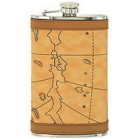 Фляга S.Quire. Карта, 270 мл. 09-3221PUTB 09-3221PUМеталлическая фляга S.Quire предназначена для воды и различных спиртных напитков. Легкая, прочная, удобной формы, такая фляга идеально подходит для походов и путешествий.S.Quire - это коллекция модных, элегантных, стильных аксессуаров для мужчин, разработанная европейскими дизайнерами и отражающая все тенденции современной моды. В коллекцию S.Quire входит широкий ассортимент разнообразных товаров: фляги, заколки для галстуков, запонки, брелоки, бритвенные наборы, кружки, термосы, портсигары, пепельницы, изделия из кожи, винные аксессуары и наборы с различной комплектацией вышеперечисленных аксессуаров. Характеристики: Материал: сталь, искусственная кожа. Размер фляги: 9,5 см х 15 см х 2 см. Объем: 270 мл. Артикул: TB 09-3221PU.