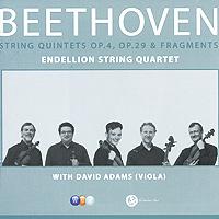 Endellion String Quartet And David Adams. Beethoven. String Quintets Opp.4 & 29, Etc.