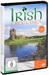 Irish Greetings (DVD + CD) майка irish pudding g013 2014