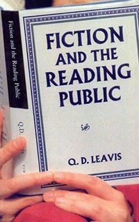 Fiction And The Reading Public faulks on fiction