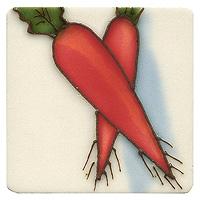 Магнит декоративный Морковь. 10189 магнит декоративный северный мишка на машинке 5 х 6 см