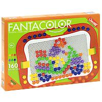 Мозаика Quercetti Fantacolor, 160 элементов quercetti мозаика маргаритка