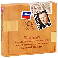 Bernard Haitink. Brahms. Complete Symphonies And Concertos (7 CD)
