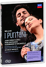 Michele Mariotti, Bellini: I Puritani (2 DVD) juan diego florez bogotá