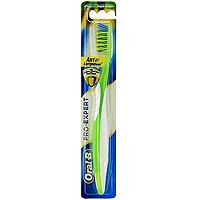Зубная щетка Oral-B ProExpert. Антибактериальная, средняя жесткостьORL-75073851Зубная щетка Oral-B ProExpert. Антибактериальная помогает предотвратить появление бактерий на щетинках между чистками зубов в течение 3 месяцев.Зубная щетка с эргономичным дизайном ручки и массирующими десны щетинками. Удлиненные, расположенные под углом боковые щетинки мягко массируют десны и помогают чистить вдоль линии десен.Oral-B ProExpert. Антибактериальная с защитой щетинок, подавляет рост бактерий на щетинках в течение 3 месяцев. Покрытие щетинок не убивает бактерии во рту и не защищает от болезней.Характеристики: Длина щетки: 19,5 см. Жесткость: средняя. Артикул: 99326457. Изготовитель: Ирландия. Товар сертифицирован.Уважаемые клиенты!Обращаем ваше внимание на возможные варьирования в цветовом дизайне товара. Поставка осуществляется в зависимости от наличия на складе.