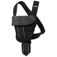 Рюкзак-кенгуру BabyBjorn Original, цвет: черный babybjorn рюкзак кенгуру one new soft cotton mix цвет серый деним