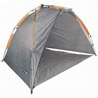 Палатка Columbus Sea shell полуавтоматическая, рыболовная, цвет: серый, оранжевый