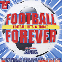 Football Forever. Football Hits & Tricks (CD + DVD) inflatable children s football gate folding portable ultralight kids soccer door in and out soccer training toys