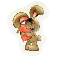 Магнит Заяц с сердцемСМНг-12Оригинальный магнит, с изображением зайчика, держащего в руках сердечко, - приятный штрих в повседневной жизни.Создайте в своем доме атмосферу тепла, веселья и радости, украшая его всей семьей. Характеристики: Размер: 6,5 см х 8 см. Материал: картон, магнит. Производитель: Россия. Артикул: СМНг-12.