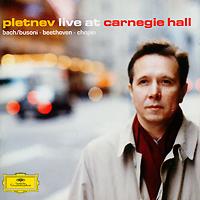Михаил Плетнев Mikhail Pletnev. Live At Carnegie Hall. Limited Edition (2 CD) иво погорелич alexander scriabin piano sonata no 2 franz liszt sonata in b minor ivo pogorelich