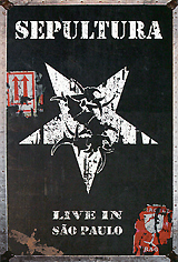Sepultura: Live In Sao Paulo (2 DVD) procol harum procol harum live in concert with the edmonton symphony orchesa 2 lp